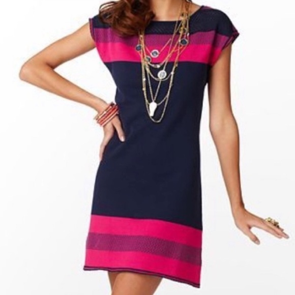 Lilly Pulitzer Dresses & Skirts - Lilly Pulitzer Kinley Short Sleeve Sweater Dress
